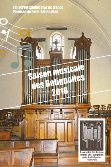 Saison musicale à Batignolles en mars