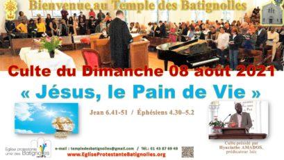 «Jésus, le Pain de Vie !»