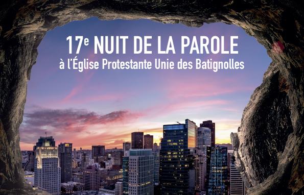 17ème Nuit de la Parole 2019