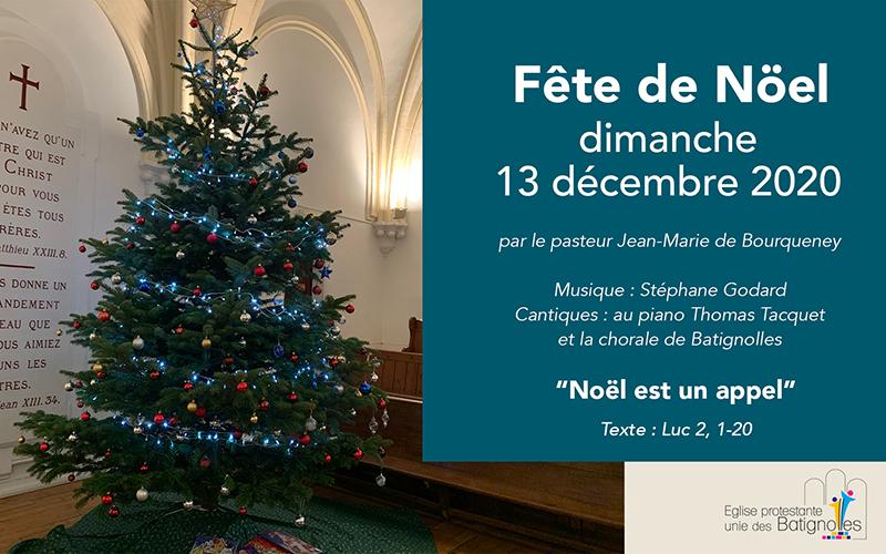 """""""Noël est un appel"""" - Fête de Noël"""