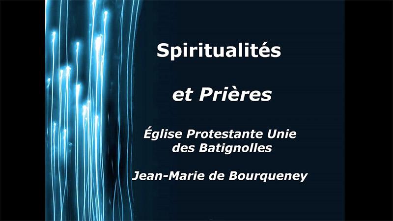Formation Spiritualités et prières en ligne